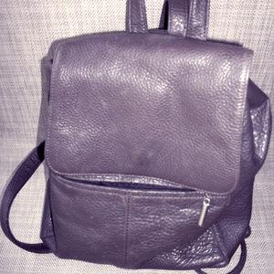 Liz Claiborne Brown Leather backpack rucksak